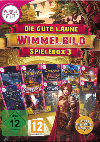 Gute Laune Wimmelbild-Spielebox 3  PC