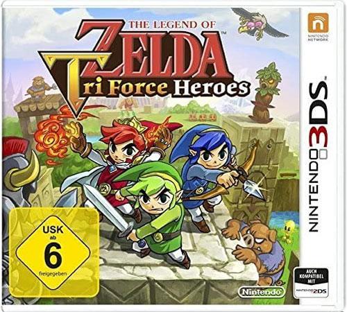 Zelda Triforce Heroes  3DS  Budget The Legend of Zelda