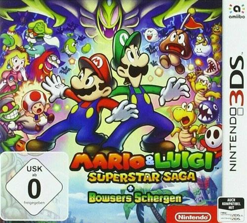 Mario & Luigi Superstar Saga  3DS Budget +Bowsers Schergen