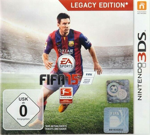 Fifa 15  3DS  Budget