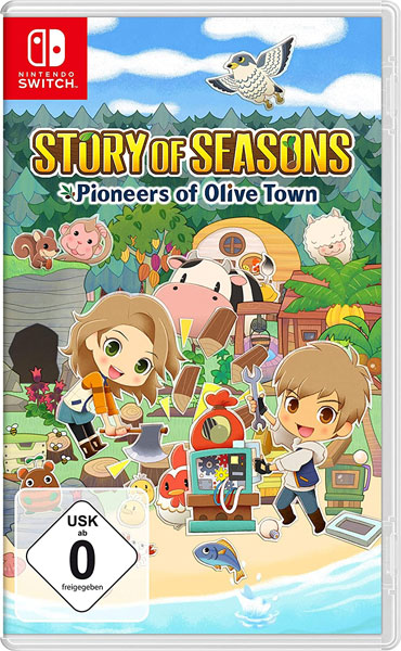 Story of Seasons 2  Switch Pioneers of Olive Town