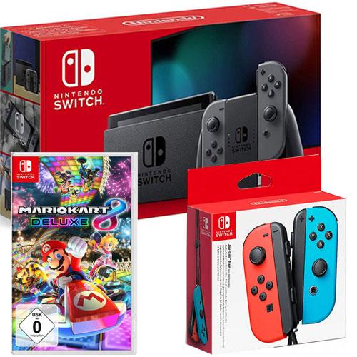 Switch   Konsole grau V2 + Mk8 + JC BRNB Nintendo