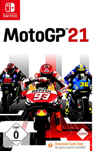 Moto GP 21  SWITCH  CiaB Code in a Box