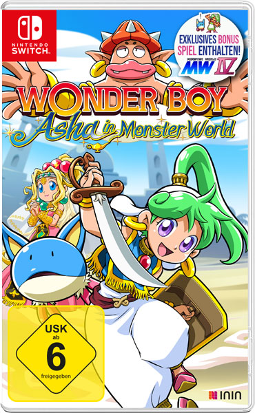 WonderBoy: Asha in Monster World SWITCH ININ Games