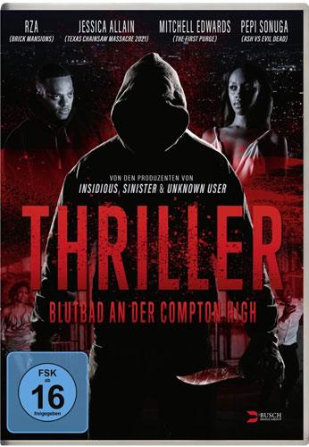 Thriller (DVD)VL Blutbad an d.Compton Hi Min: 83/DD5.1/WS