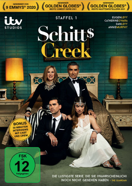 Schitt's Creek - Staffel #1 (DVD) Min: 284/DD5.1/WS       2Disc