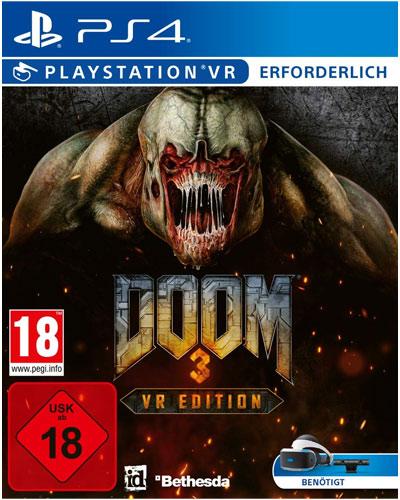 VR Doom 3  PS-4