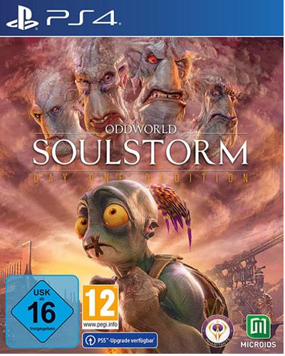 Oddworld: Soulstorm  PS-4  D1 Steelbook