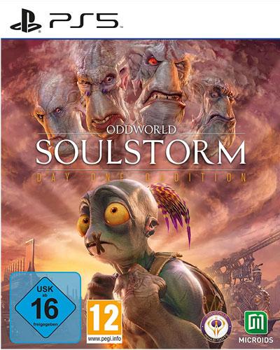 Oddworld: Soulstorm  PS-5  D1 Steelbook