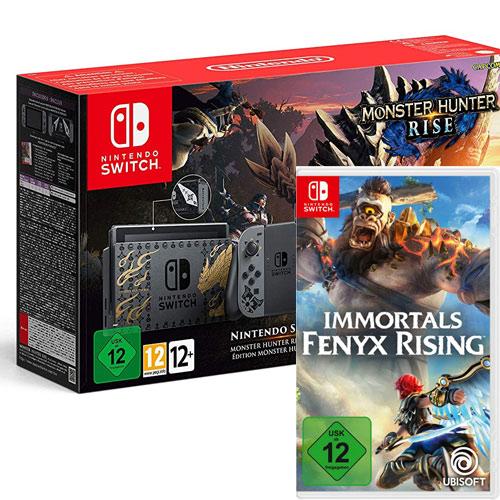 Switch   Konsole Monster Hunter + Immort Game als DLC + Deluxe Kit + Bonus