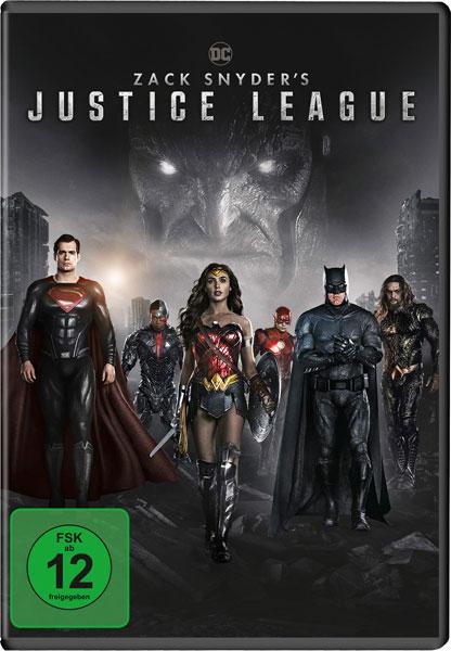 Zack Snyder's - Justice League (DVD) Min: 232/DD5.1/WS  2Disc