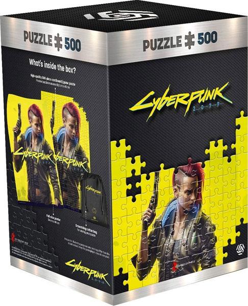 Puzzle Cyberpunk 2077 Keyart Female V 500 Teile