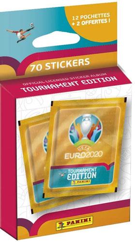 Panini EM 2020 Tournament Ed. Blister 12er Blister