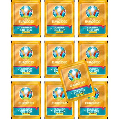 Panini EM 2020 Tournament Ed. Starter Album + 10 Tüten