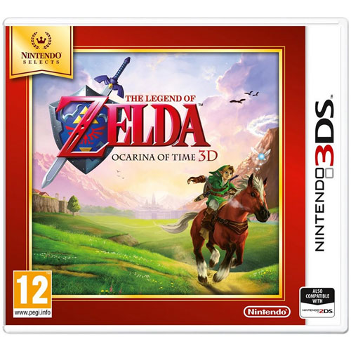 Zelda  Ocarina of Time  3DS SELECTS  UK
