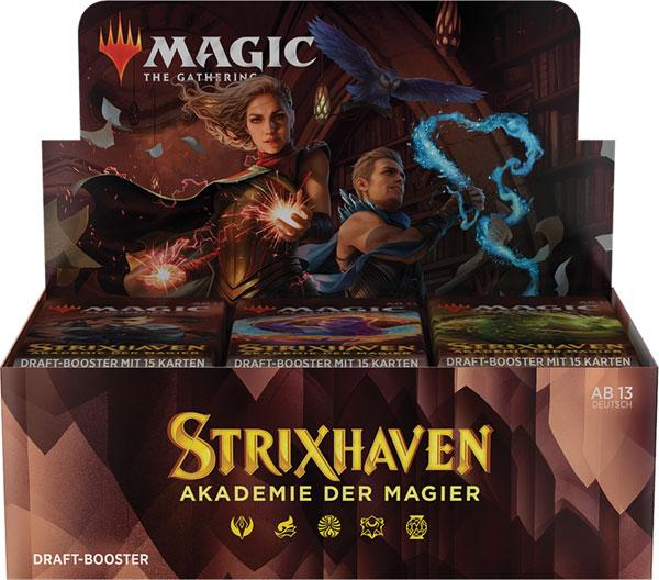 Magic  Akademie Draft-Booster 36-er Trading Card Game 36 Booster Pack deut. Akademie der Magier