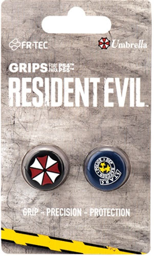 PS5 Grips Resident Evil Umbrella 2-er BLADE   auch PS-4/PS-3/XB360