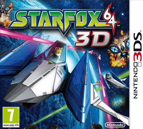 Star Fox 64 3D  3DS  SELECTS  UK