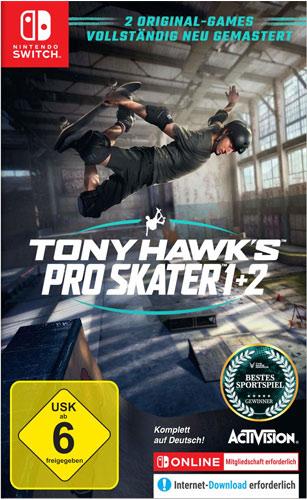 Tony Hawks Pro Skater 1+2  SWITCH Remastered