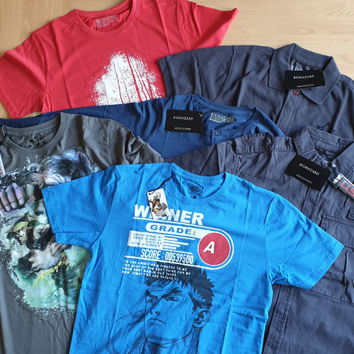 Capcom Merc  T-Shirt M Blind Pick Diverse Motive