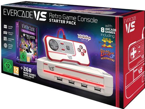 Evercade VS   Starter Pack + 1 Controller + Technos Arcade 1