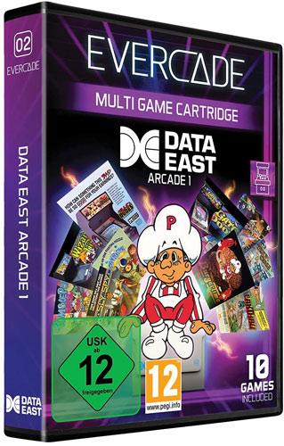 Evercade VS Data East Arcade 1