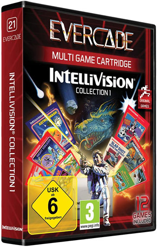Evercade VS Intellivision 1