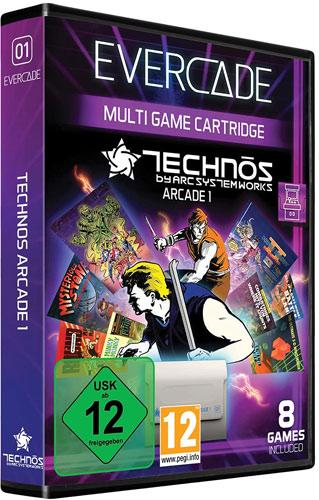 Evercade VS Technos Arcade 1