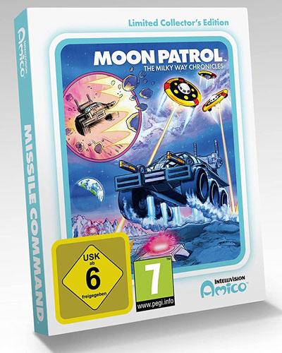 Intellivision Amico Moon Patrol  CiaB