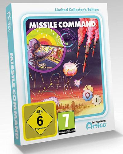 Intellivision Amico Missile Command CiaB
