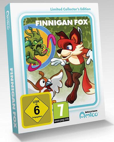 Intellivision Amico Finnigan Fox  CiaB