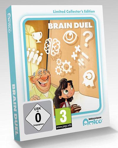 Intellivision Amico Brain Duel  CiaB