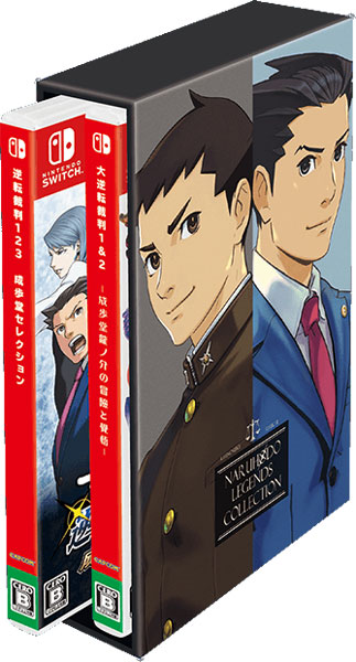 Ace Attorney Legends Collection  SWITCH US