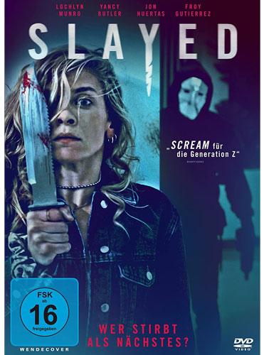 Slayed - Wer stirbt als nächstes (DVD)VL Min: 92/DD5.1/WS