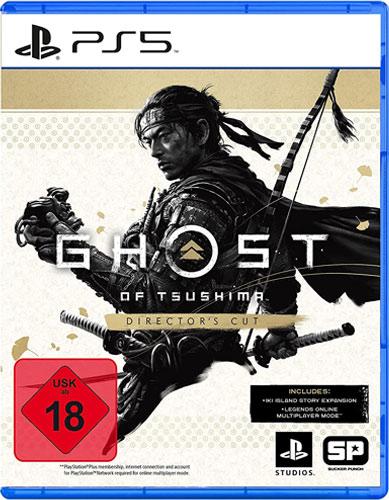 Ghost  of Tsushima  PS-5  D.C. Directors Cut
