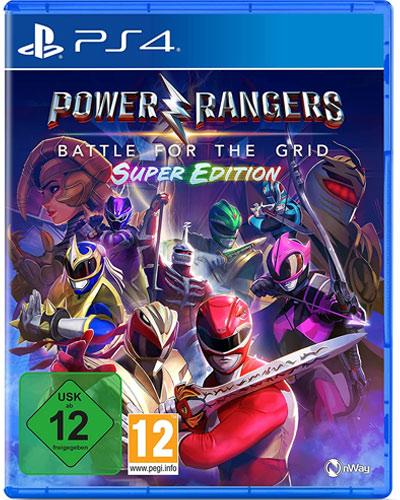 Power Rangers: Battle for Grid  PS-4 Super Edition