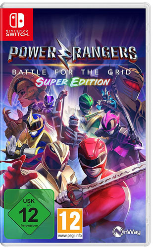 Power Rangers: Battle for Grid  SWITCH Super Edition
