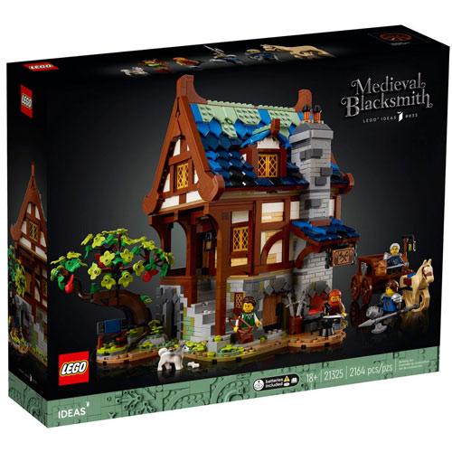 Lego Ideas mittelalterliche Schmiede Bausatz (21325)