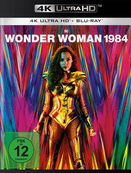 Wonder Woman 1984 (UHD+BR) 2Disc Min: 151/DD5.1/WS  4K Ultra