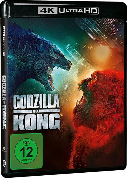 Godzilla vs. Kong (UHD+BR) 2Disc Min: /DD5.1/WS  4K Ultra