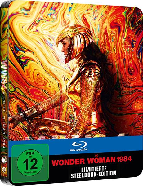 Wonder Woman 1984 (BR) LE -Steelbook- Min: 151/DD5.1/WS