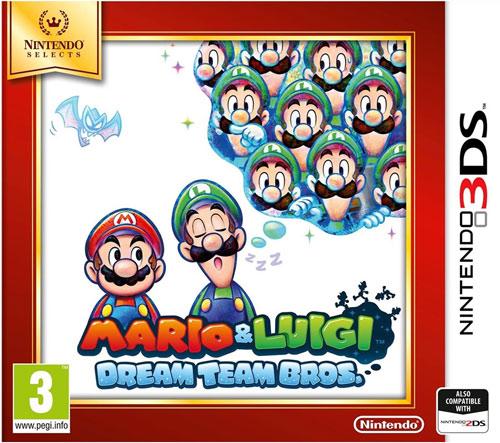 Mario & Luigi Dream Team Bros 3DS UK Multi Selects