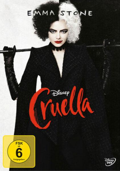 Cruella (DVD)VL + POSTER Min: 134/DD5.1/WS