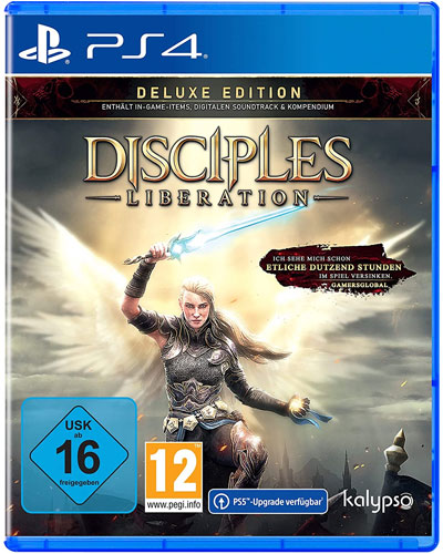 Disciples: Liberation  PS-4  DELUXE