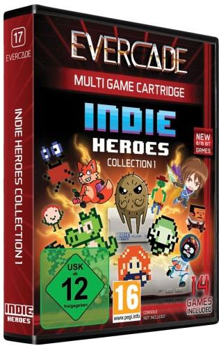 Evercade Indie Heroes Cartridge 1