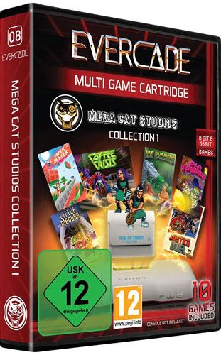 Evercade Mega Cat Cartridge 1