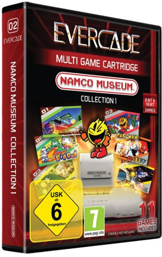 Evercade Namco Cartridge 1