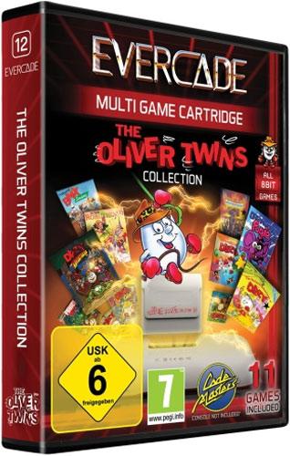 Evercade Oliver Twins Cartridge 1
