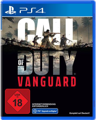 COD  Vanguard  PS-4 Call of Duty