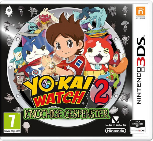 Yo-Kai Watch 2  3DS  Knochige Gesp. AT